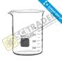 Beaker glass DURAN บีกเกอร์  50 มล.