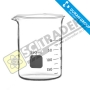 Beaker glass DURAN บีกเกอร์ 100 มล.
